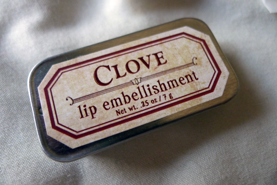 Clove Lip Embellishment by For Strange Women