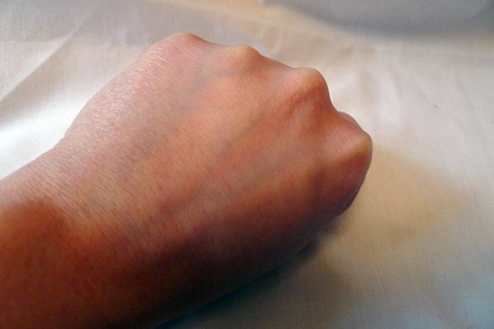 This is my hand with nothing on it.
