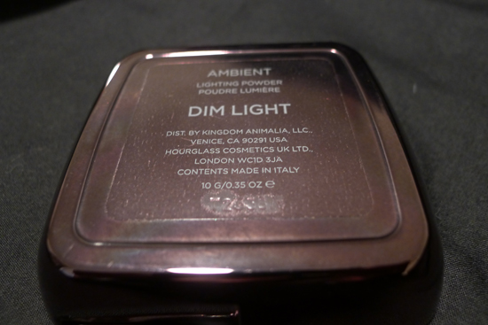 Hourglass Ambient Lighting Powder Dim Light Review