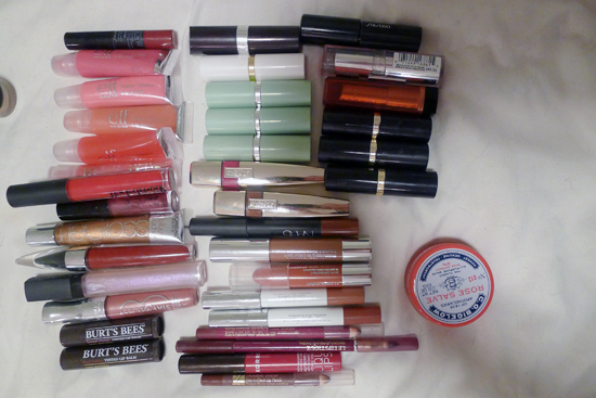 My Lip Colors and Balms