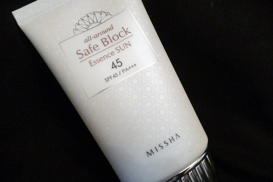 Missha All-Around Safe Block Essence Sun cream SPF 45 / P+++