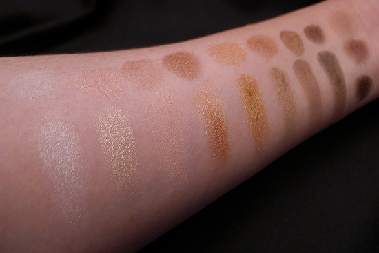 Kat Von D True Romance Eyeshadow Palette – Saint Lorac Unzipped Comparison Swatches
