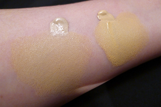 Kat Von D Lock-it Tattoo Foundation in Shade #48 Light and Shade #52 Medium/Light