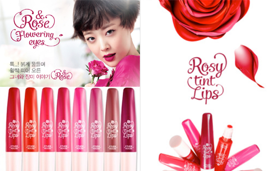 Etude House Rose Rose Collection Fall Winter 2013