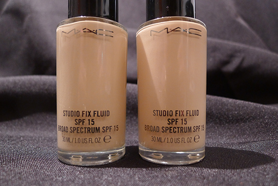 MAC Studio Fix Fluid NC15 & NW13