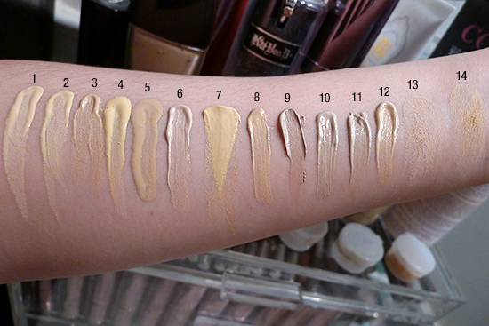 My mac foundation matching debacle am i nw or nc skin tonics foundation swatches kat von d mac guerlain chanel nc15 nw15 beige 10 light 48 light 44 publicscrutiny Choice Image