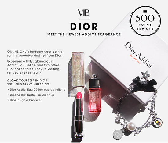 Sephora Dior Addict Beauty reward