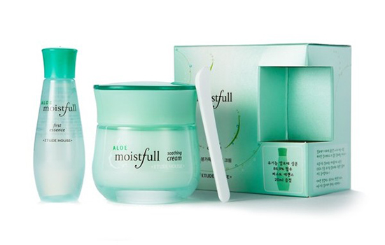 Etude House Aloe Moistfull Cream Set