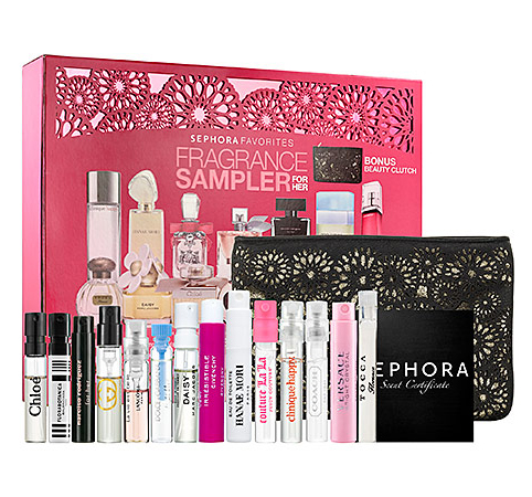 1.	Sephora Fragrance Sampler for Her ($65)