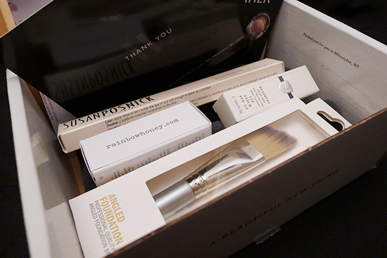 Wantable October Makeup Box