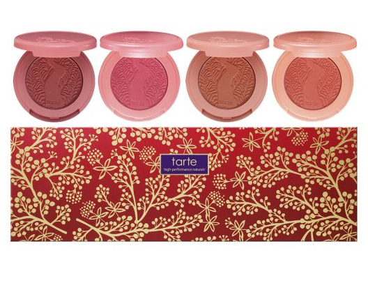 tarte Special Edition Holiday 4-pc Amazonian Clay Blush Set