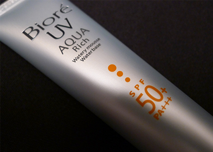 Biore UV Aqua Rich Watery Mousse Sunscreen SPF50/PA+++ Review