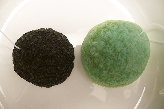Bamboo Charcoal Puff by The Japanese Konjac Sponge
