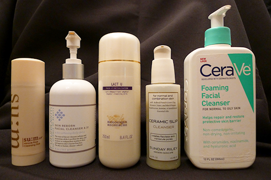 Moisture barrier - cleansers