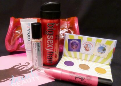July 2013 Ipsy Glam Bag Review