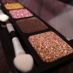 NYX Glitter Cream Palette Sweet Chocolate Browns