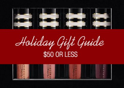 Holiday Gift Guide $50 and Under