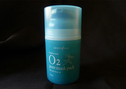 Innisfree Mint O2 Pore Mask Pack