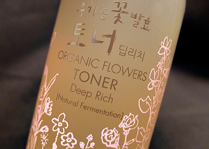 Organic Flowers Deep Rich Essence Toner
